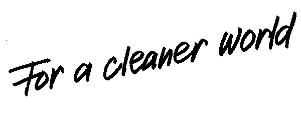 For-a-cleaner-world