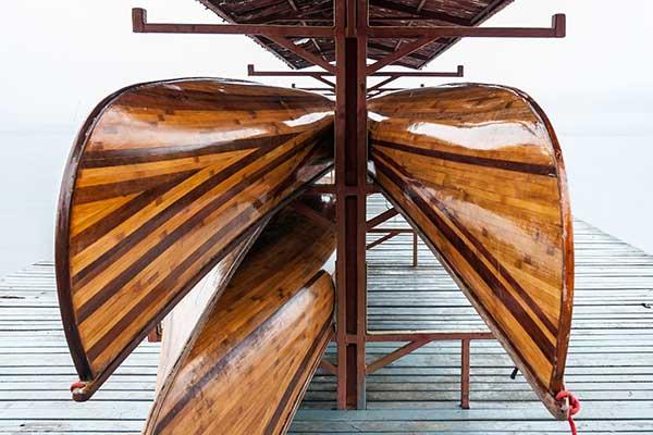 лодка хаус ружья